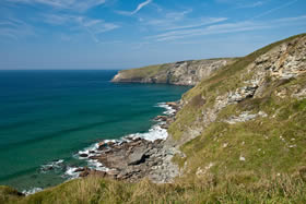 The Atlantic Coast in North Cornwall